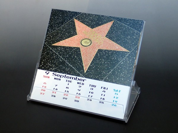 卓上カレンダー ポップ(Sサイズ)中身