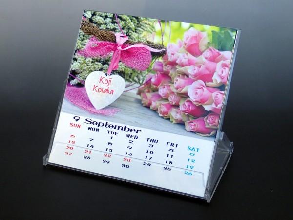 卓上カレンダー ポップ メッセージ入り(Sサイズ)中身